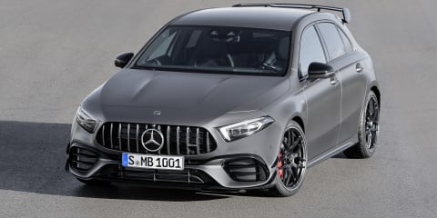 2020 Mercedes-AMG A45 & CLA45 exhaust sound restricted by European regulations
