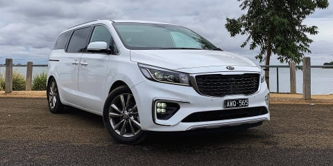 2019 Kia Carnival Platinum: Easter road trip party bus