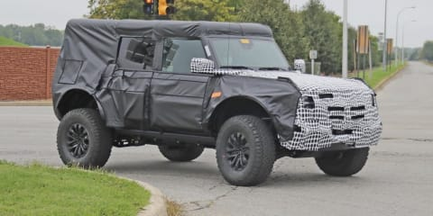 2023 Ford Bronco Raptor spy photos
