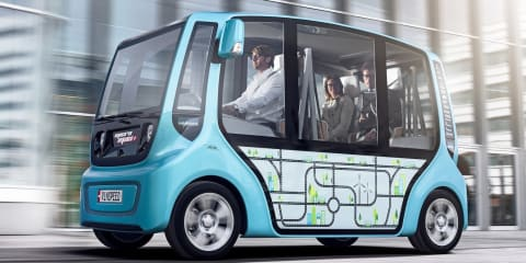 Rinspeed Micromax concept makes public transport personal
