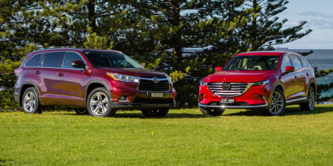 Mazda CX-9 beats Kluger as company's SUV sales match passenger cars