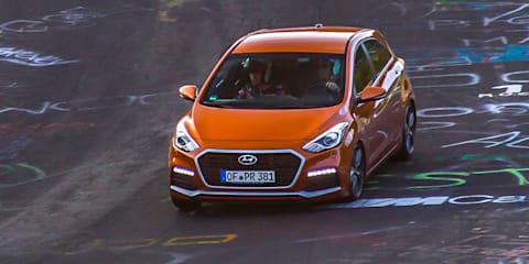 2015 Hyundai i30 Turbo Review : Nurburgring