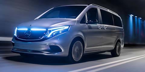 Mercedes-Benz Concept EQV revealed
