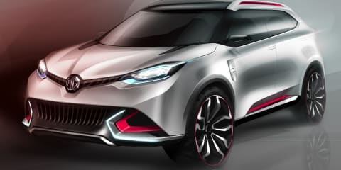MG CS concept: official images of future SUV released
