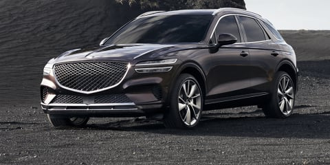 2021 Genesis GV70 detailed: Turbocharged engines, advanced safety confirmed for luxury SUV