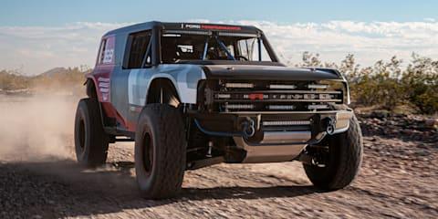 Ford Bronco R race prototype revealed