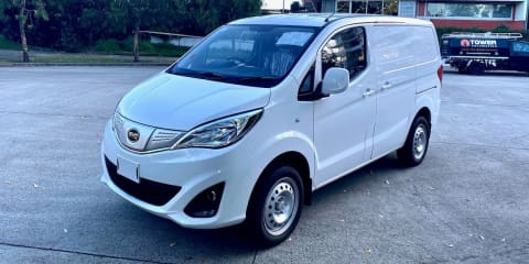 Australia's cheapest electric vehicle: China's BYD promises sub-$35,000 van, here this year