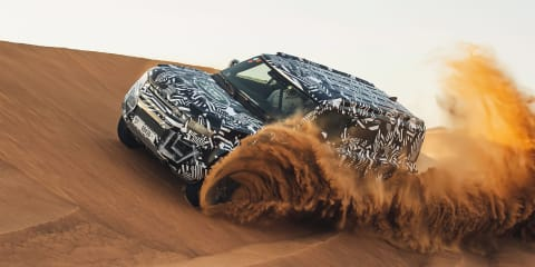 2020 Land Rover Defender teased