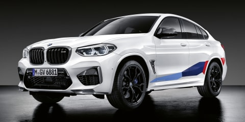 BMW X3 M & X4 M get M Performance Parts