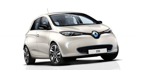 Renault Zoe testing in Australia