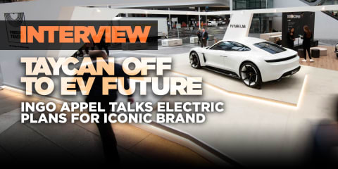 Interview: Taycan a look at the Porsche Mission E