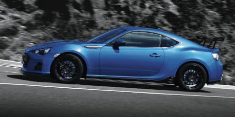 Subaru BRZ tS: Japan-only model on sale