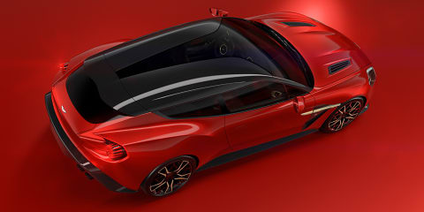 Aston Martin Vanquish Zagato Shooting Brake officially unveiled