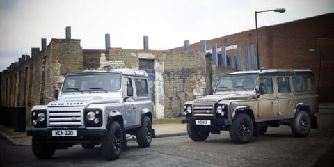 2011 Land Rover Defender Limited Edition announced