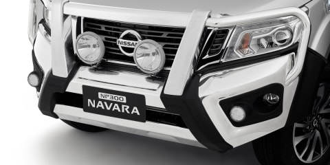 2015 Nissan Navara bullbar scores ANCAP five-star safety rating