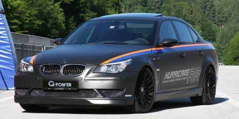 BMW M5 G-Power Hurricane RR breaks record with 372.1km/h run