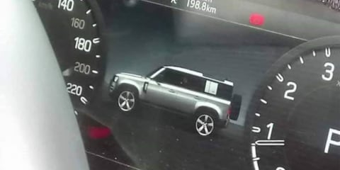 2020 Land Rover Defender design leaked