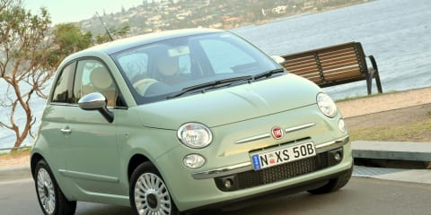 Fiat 500 side airbag recall