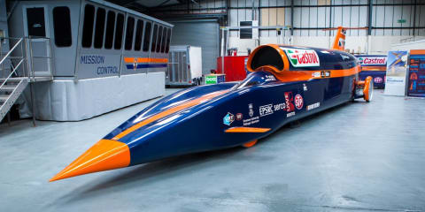 Bloodhound SSC wheel successfully passes 1770km/h test