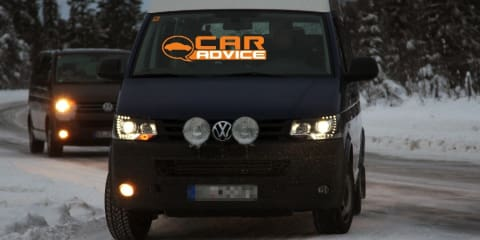 2012 Volkswagen Transporter spy shots