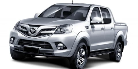 Foton ute from China coming to Australia early in 2012