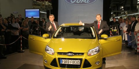 2012 Ford Focus production begins in Germany