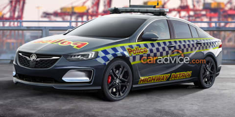 2018 Holden Commodore to be police ready