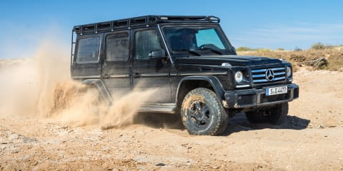 Across the Simpson Desert in a Mercedes-Benz G-Wagen
