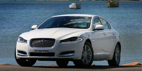Jaguar XF closing sales gap to BMW 5 Series
