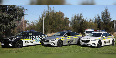 Holden Commodore joins SA Police fleet
