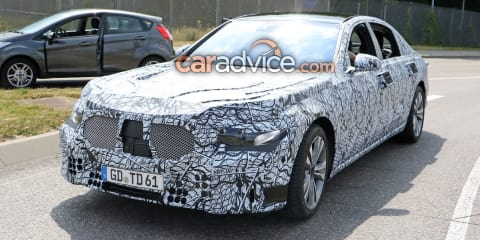 2020 Mercedes-Benz S-Class spied again