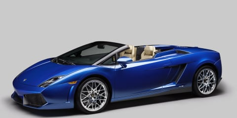 Lamborghini Gallardo LP550-2 Spyder revealed