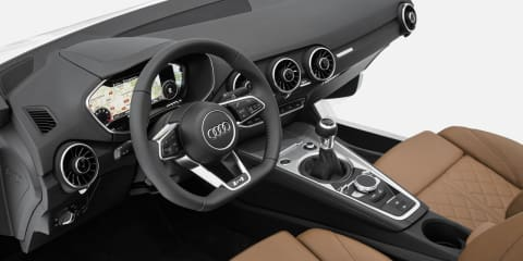 Audi TT : all-new interior revealed