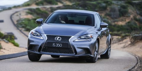 Lexus IS a better driver's car than 3 Series, claims Japanese brand