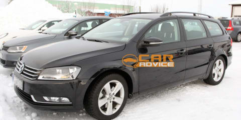 2014 Volkswagen Passat spy shots