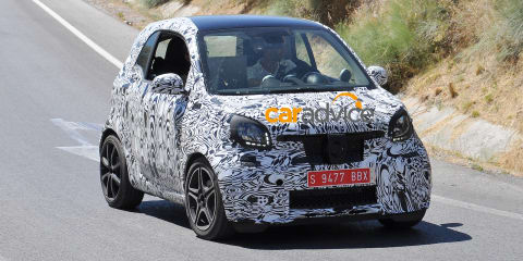 Smart Fortwo Brabus :: New pocket-rocket spied