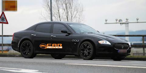 2012 Maserati Quattroporte baby spy shots