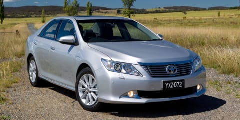 Toyota Camry, Aurion available with zero per cent finance