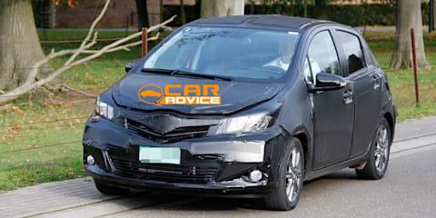 New Toyota Yaris Spy Photos