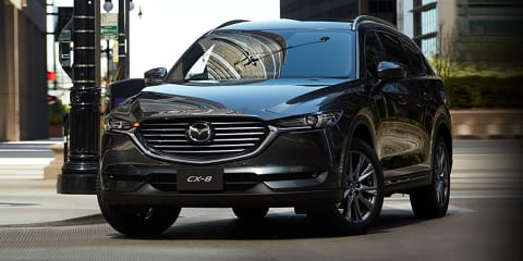 Mazda CX-8 gains 2.5T petrol in Japan