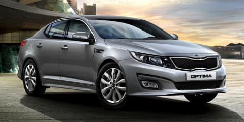 2014 Kia Optima facelift brings more equipment, higher prices