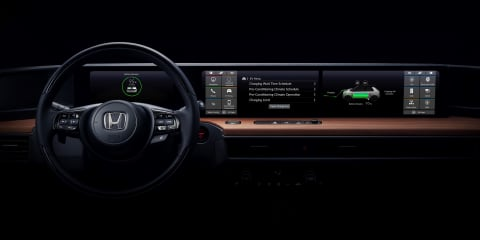 Honda Urban EV prototype interior revealed