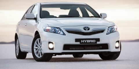 Toyota Camry Hybrid Safety Rating ANCAP
