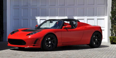 2010 Tesla Roadster 2.5 unveiled