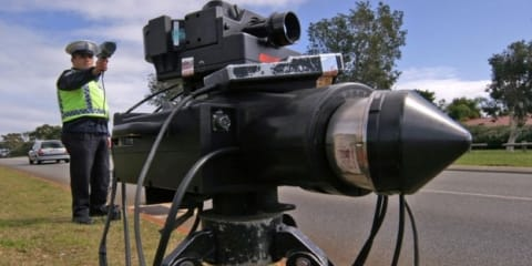 Senior police officer caught speeding twice by same camera