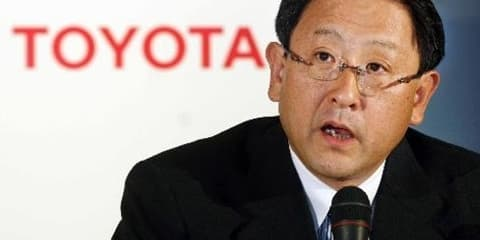Toyota president takes 30 per cent pay cut