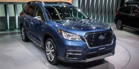 2018 Subaru Ascent unveiled