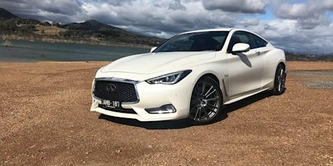 2017 Infiniti Q60 3.0t Red Sport review