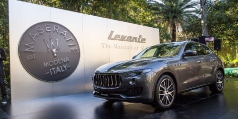 2017 Maserati Levante pricing and specifications: $139,990 opening for first SUV offering