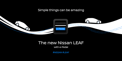 2018 Nissan Leaf 'e-Pedal' detailed ahead of September reveal